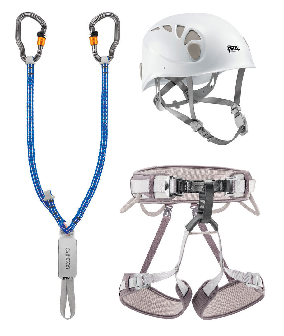 Petzl Kit Via Ferrata Vertigo-Verleih